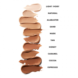 right foundation shade